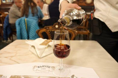 majestic-cafe-porto/ポートワインの味