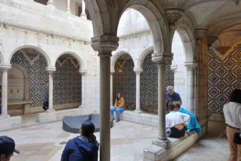 museu-nacional-do-azulejo/回廊