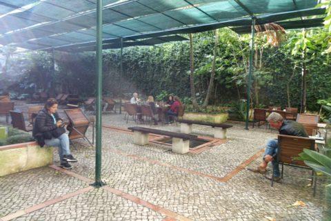 museu-nacional-do-azulejo/カフェの屋外席