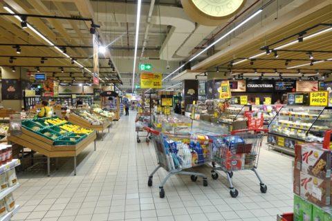 ポルトのスーパー