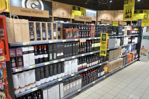 ポートワイン売場