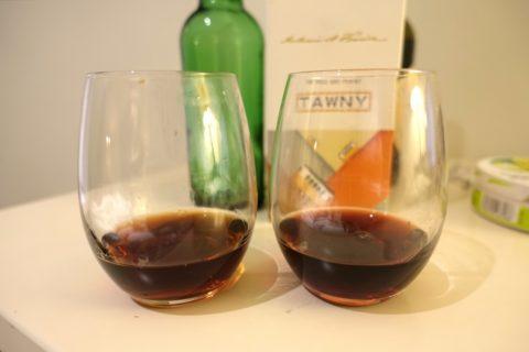 TAWNYのポートワイン