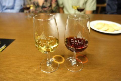 porto-calem/2つのワインを飲み比べ