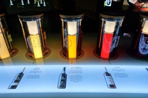 porto-calem/ポートワインの色見比べ