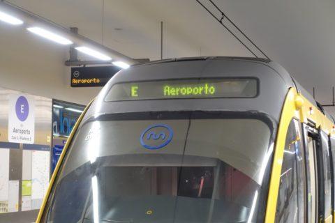 porto-metro/先頭の行き先表示