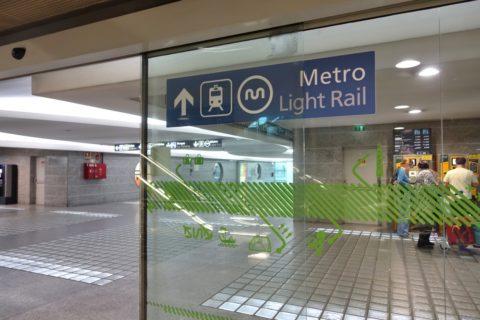 porto-metro/空港駅