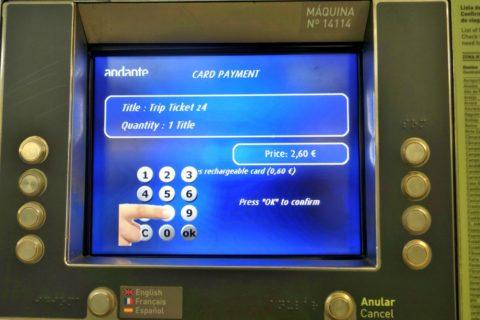 porto-metro/チケットクレジットカード