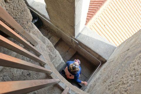 torre-dos-clerigos/階段