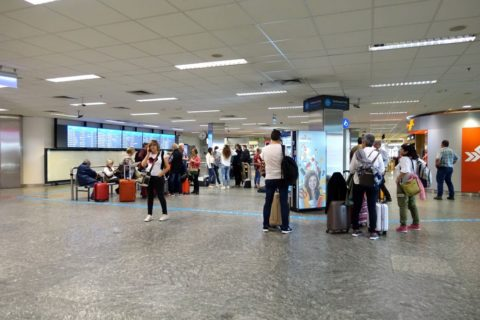 budapest-airport-到着ロビー