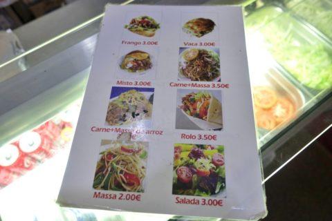 doner-kebab-lisboa/メニュー