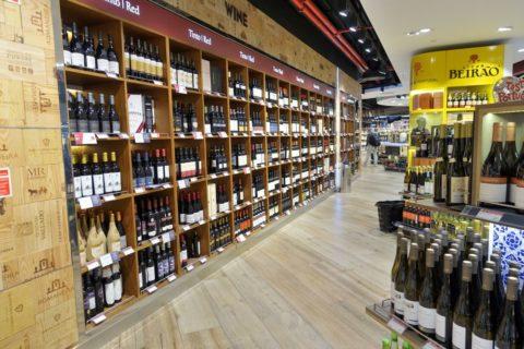 lisbon-airport/ワイン売場