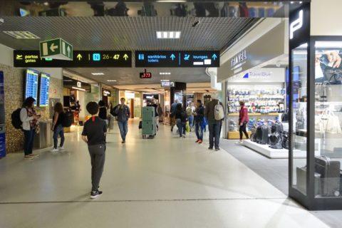lisbon-airport/コンコース