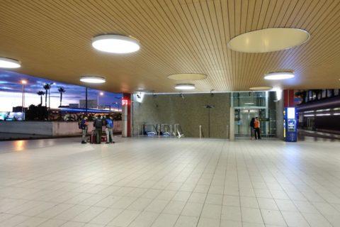 lisbon-airport/地下鉄入口