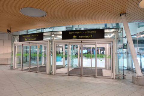 lisbon-airport/ターミナル1エントランス