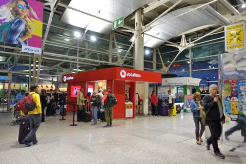 lisbon-airport/Simカードショップ