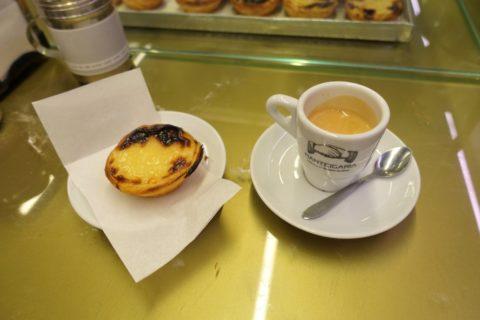 manteigaria/ナタとコーヒー