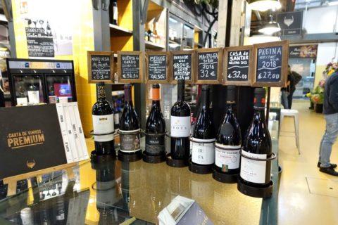mercado-de-campo-de-ourique/ワイン店