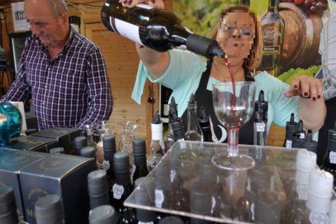 mercado-dos-mercaods/ワインを注文