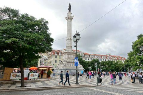 リスボンロッシオ広場