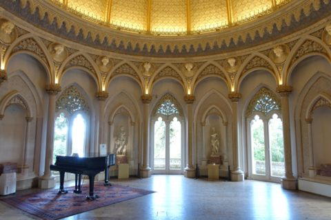 palacio-de-monserrate/音楽室