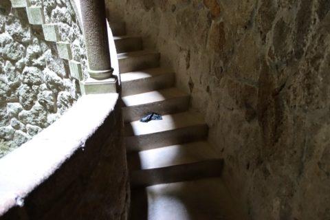 Initiatic Wellの階段