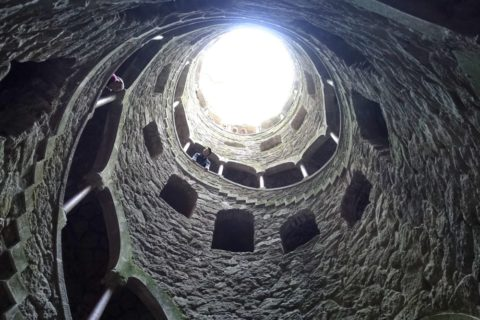 Initiatic Wellで見上げる