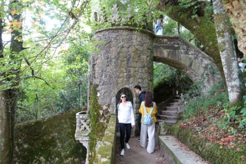 quinta-da-regaleira/石造りの塔
