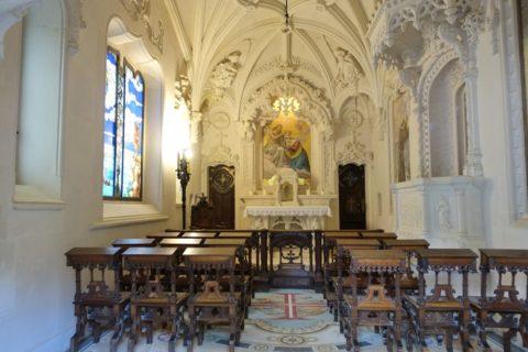quinta-da-regaleira/礼拝堂の内部