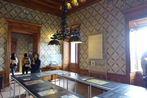 quinta-da-regaleira/博物館の内部