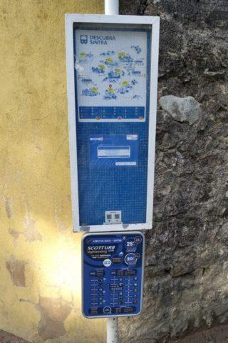 sintra-bus-バス停の看板