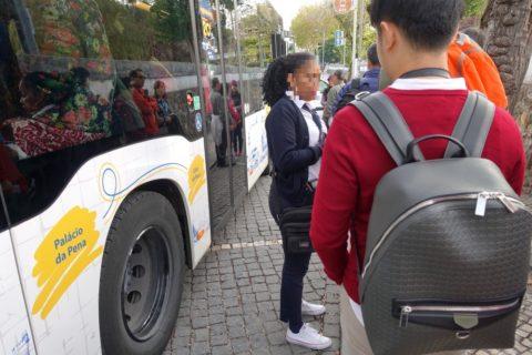 sintra-bus/切符売り