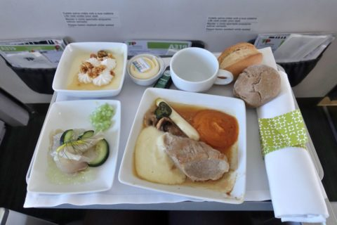 tap-air-portugal-businessclass/機内食