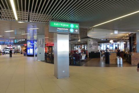 ブダペスト空港到着