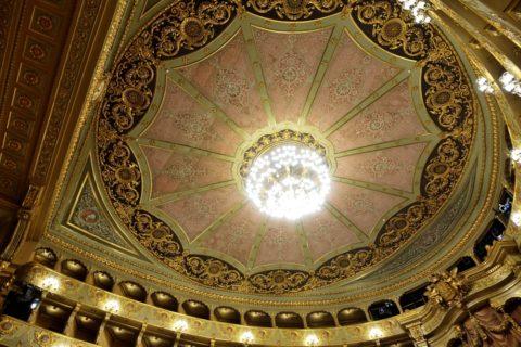teatro-nacional-de-sao-carlos/講堂の天井