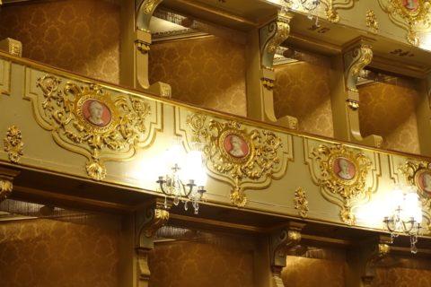 teatro-nacional-de-sao-carlos/バルコニー席の肖像画