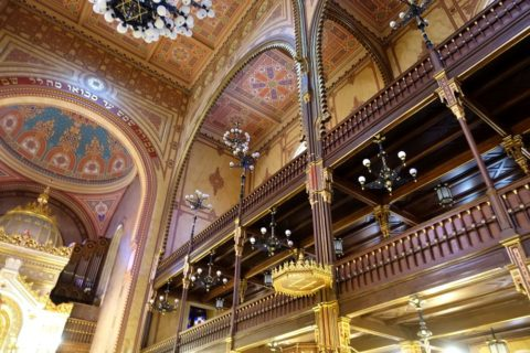 Great-Synagogue-Budapest/ピンク