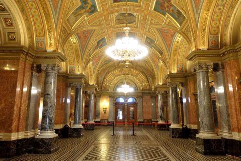 Hungarian-State-Opera/エントランスホール