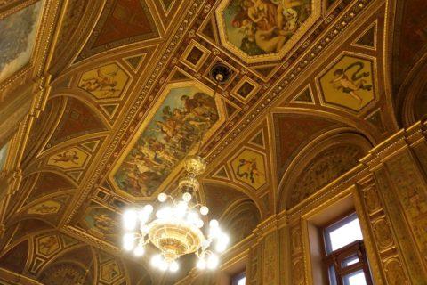 Hungarian-State-Opera/Barの天井