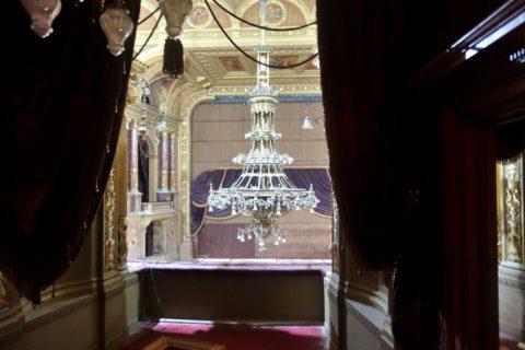 Hungarian-State-Opera/工事中の講堂
