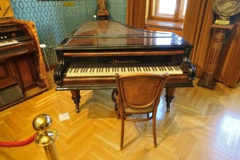 ベーゼンドルファーのピアノ、リスト記念館