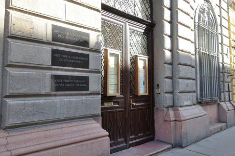 リスト記念館の入口