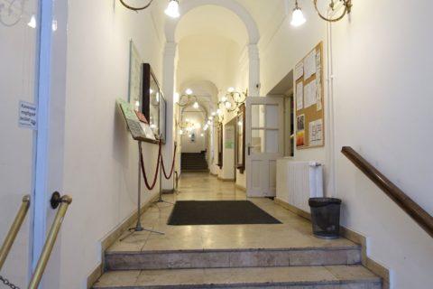 リスト記念館の廊下