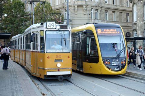 budapest-transport/トラムの種類