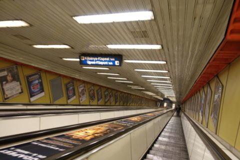 budapest-transport/エスカレーター
