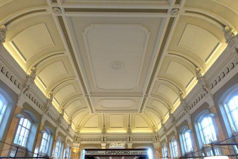 mcdonalds-budapestの天井