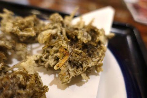 楚辺のもずくの天ぷら