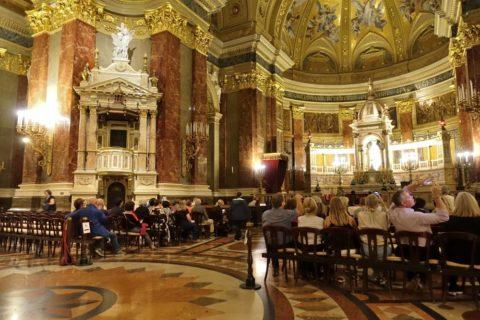 szent-istvan-bazilika/夜のコンサート
