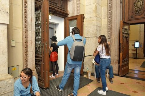 szent-istvan-bazilika/展望台へのエレベーター