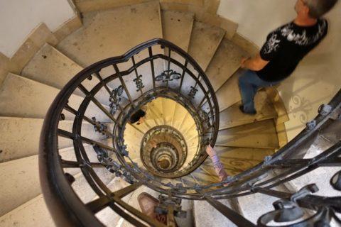 szent-istvan-bazilika/展望台への階段