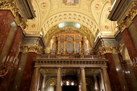 szent-istvan-bazilika/パイプオルガン